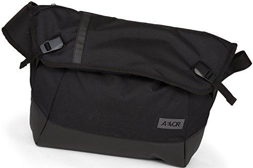 Aevor Maletín Messenger Bag Bolso bandolera 49 cm Black Eclipse