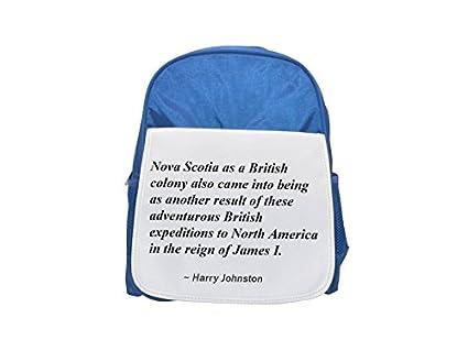 Nova Scotia como colonia británica también nació como otro resultado de estas aventureras expediciones británicas a