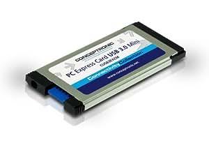 Conceptronic C05-137 - Adaptador de puerto paralelo (USB 3.0 Mini, PCI Express Card)