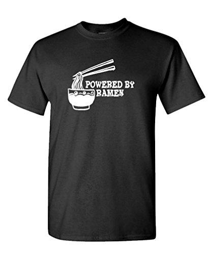 GOOZLER POWERED RAMEN Cotton T Shirt
