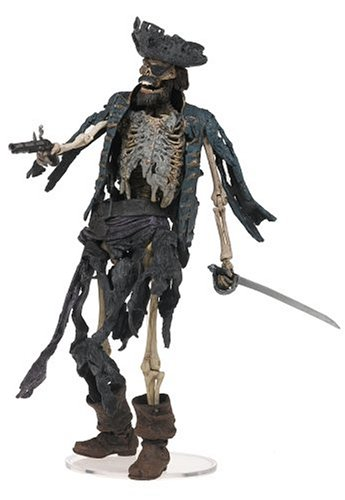 Pirates Caribbean Skeleton - NECA Pirates of the Caribbean Action Figure Series 1 Skeleton Pirate