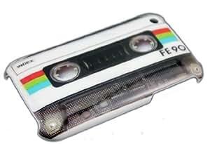 Apple iPhone 3G 3GS CASSETTE TAPE cassette Retro caso HARD CASE funda móvil thematys®