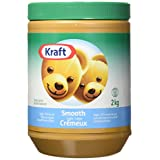 Kraft Smooth Light Peanut Butter, 2KG Jar