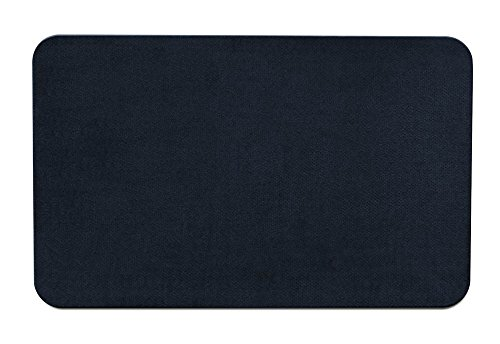 House, Home and More Skid-Resistant Carpet Indoor Area Rug Floor Mat - Navy Blue - 2' X 3' - Many Other Sizes to Choose from