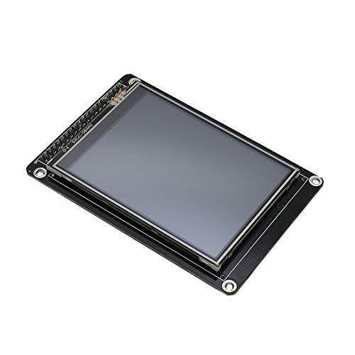 Negro Pantalla TFT LCD de 3.2Pantalla t/áctil Nextion mejorada NX4024K032 Pantalla t/áctil LCD HMI de 3.2 pulgadas