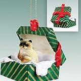 Ragdoll Cat Gift Box Christmas Ornament