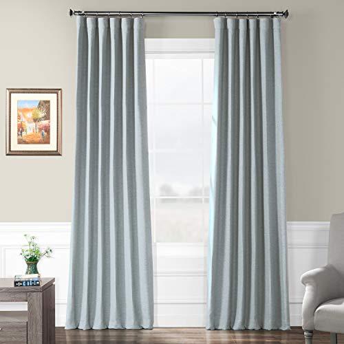 (BOCH-PL1702-84 Bellino Blackout Curtain, Gulf Blue, 50 x 84)