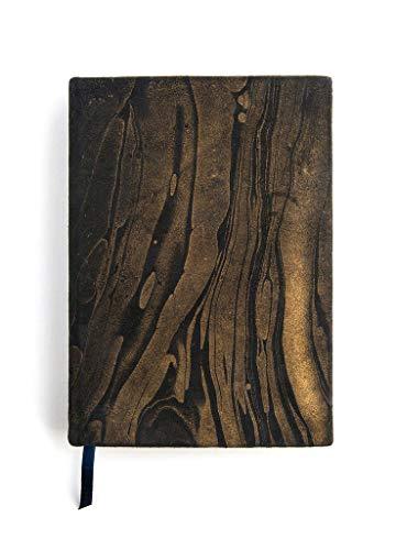 (Printfresh Hardcover Leather Journal, Medium (6