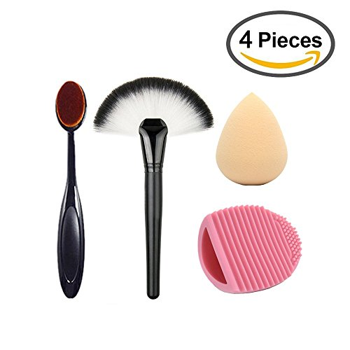 Scrubbing Face With Toothbrush - 2