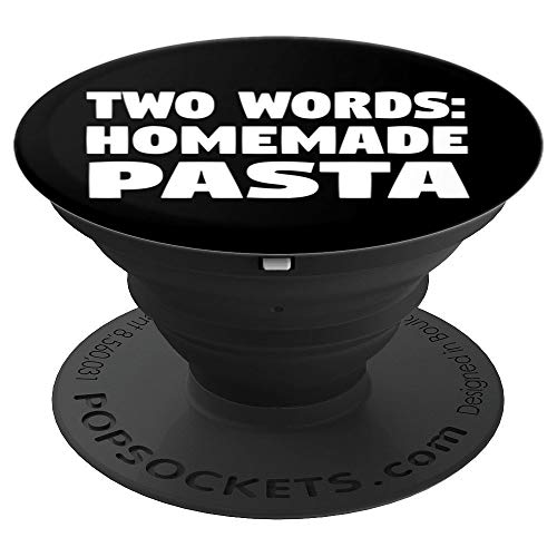 TWO WORDS HOMEMADE PASTA - PopSockets Grip and Stand for Phones and Tablets
