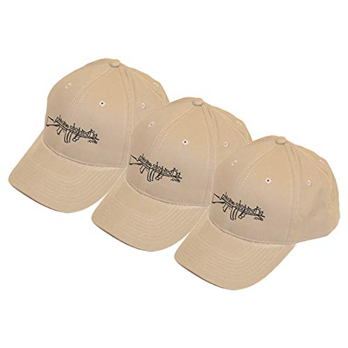 Tan Chrome Shop Mafia Tommy Gun Hat Buy 3 Kit