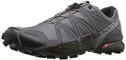 Salomon Men's Speedcross 4 Trail Runner, Dark Cloud, 10.5 M Us