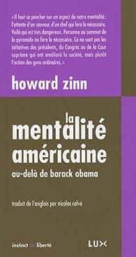 La Mentalité américaine par Howard Zinn