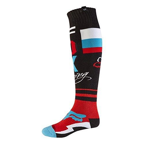 Fox 2017 Herren Motocross / MTB Socken - FRI ROHR THIN - schwarz: Größe Socken: M