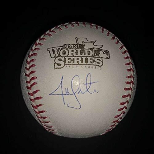 - Jon Lester Boston Red Sox Autographed Signed 2013 World Series Baseball MLB & Steiner Coa - Authentic Memorabilia