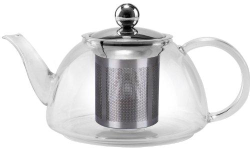 - Uniware Glass Kettle Tea Pot, 1200ml