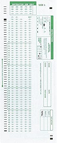 TEST-100E 882 E Compatible Testing Forms (500 Sheet Pack) - 500 Count Pack