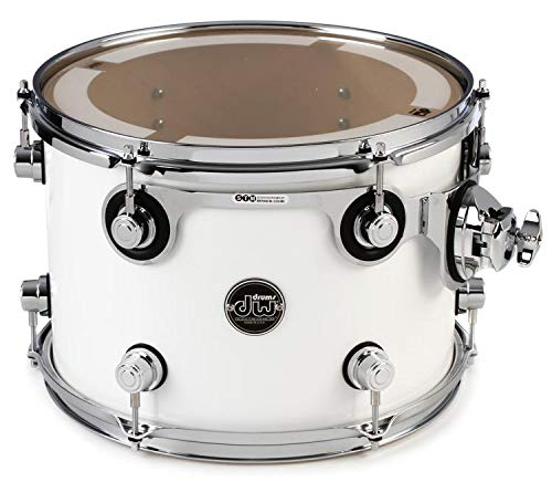 DW Performance Series Mounted Tom - 9'' x 13'' Gloss White Lacquer