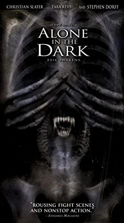 Amazon Com Alone In The Dark Vhs Christian Slater Tara Reid Stephen Dorff Frank C Turner Matthew Walker Will Sanderson Mark Acheson Darren Shahlavi Karin Konoval Craig Bruhnanski Kwesi Ameyaw Dustyn Arthurs Uwe