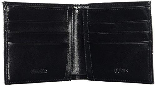 Guess SM4004NYL27, Cartera Para Mujer, Negro, 2x9.8x12.4 cm
