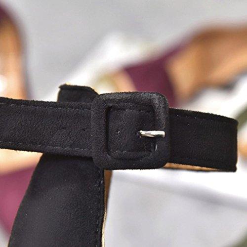 MML Femme MML Sandales Noir pour 12455 nd0xxHPqY