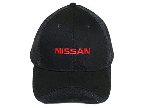 a9e394e89 Amazon.com: Nissan Black Dry Zone Mesh Insert Baseball Cap, Official ...