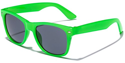 Iconic Classic Sunglasses for Children | Toddler Preschool Grade-school Boys and Girls Best for Kids Age 2-10 Years