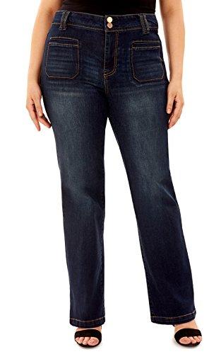 Flared Jeans Cut Pants - 9