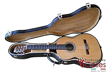 vscases Funda rígida Made in Italy para guitarra Clásica ...