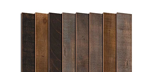 AS-IS BRAND Wood Walls (RAW-ISH) - Glue & Stick Aged Wood Planks (20 Sq. Ft) by AS-IS (Image #1)