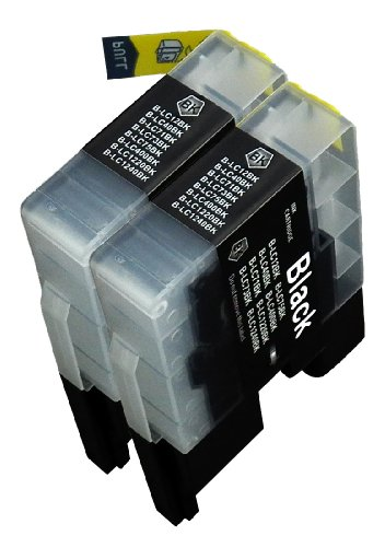 Blake Printing Supply © 2 Pack Compatible Ink Cartridge Replacements for  Brother LC-71 , LC-75 2 Black for use with Brother MFC-J280W, MFC-J425W, MFC-J430W, MFC-J435W, MFC-J5910DW, MFC-J625DW, MFC-J6510DW, MFC-J6710DW, MFC-J6910DW, MFC-J825DW, MFC-J835DW. Ink Cartridges for inkjet printers. LC-1240BK