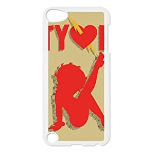 Betty Boop Silhouette iPod Touch 5 Case White&Phone Accessory STC_022454