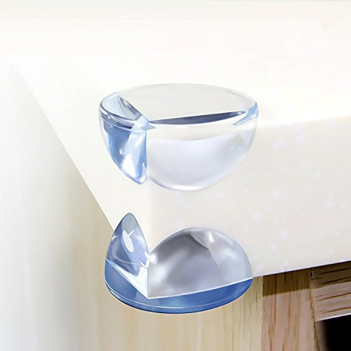 Corner Guards Soft Baby Proofing& Edge Protectors Child Proof Corner Safety Bumpers Table Guards Cover 12 pack - Livebetter