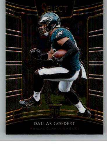 2018 Select Football #21 Dallas Goedert Philadelphia Eagles Concourse RC Rookie Card Official NFL Trading Card From -