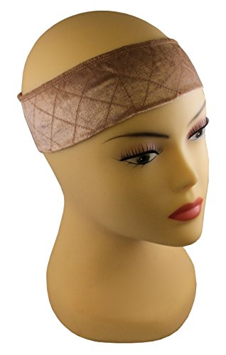 MILANO COLLECTION WiGrip Extra Hold Wig Comfort Band, Tan