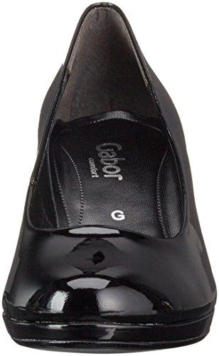 Gabor Shoes Comfort Fashion, Zapatos de Tacón para Mujer Negro (schwarz 87)