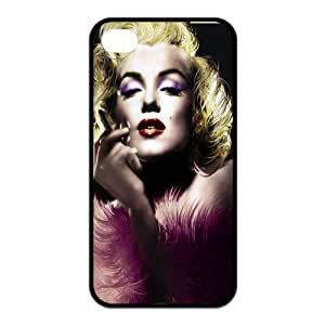BingoBox Marilyn Monroe Zombie Snap-On Hard Back Fits Case Cover for iphone 4 4s DIY4S0178
