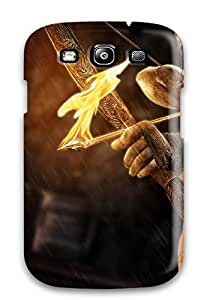 New Style CaseyKBrown Tomb Raider 2013 New Premium Tpu Cover Case For Galaxy S3