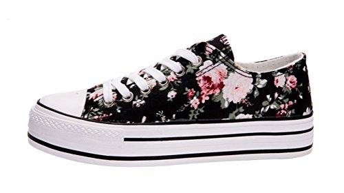 tmates-womens-fashion-lace-up-cap-toed-platform-flower-print-canvas-flat-sneakers-55-bmusblack