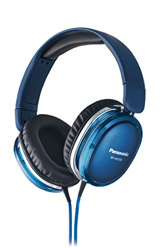 Panasonic Rp-hx350-A Blue [Support DTS Headphone -X] (Japan Import) (Headphones Dts)