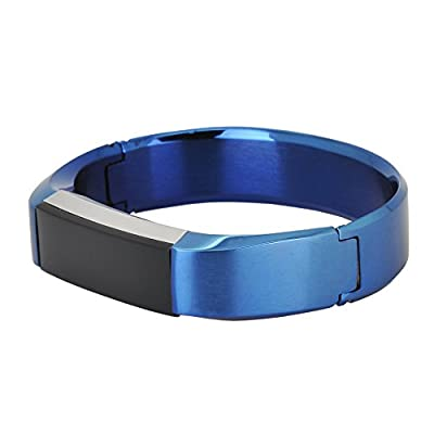 Fitbit Alta Bracelet Band, No1seller Premium Stainless Steel Bracelet Watch Band Strap for Fitbit Alta Fitness Tracker(Wrist size 5.8-6.7 inch)