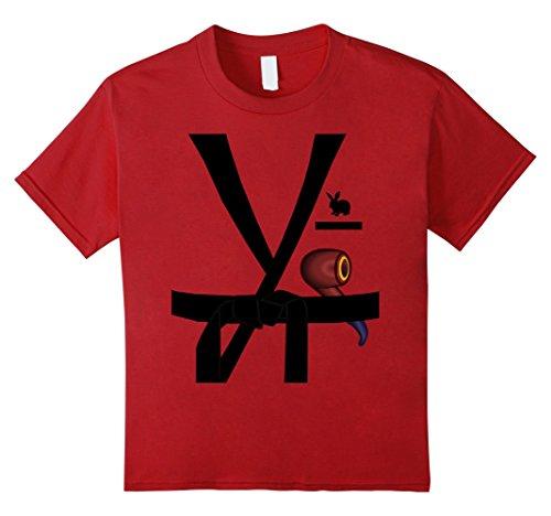 Kids Red Smoking Jacket Halloween Costume T-shirt