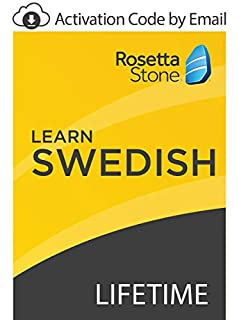 Rosetta Stone: Learn Swedish with Lifetime Access on iOS, Android, PC, and Mac [Activation Code by Email] (B07GK1Z5HJ) | Amazon price tracker / tracking, Amazon price history charts, Amazon price watches, Amazon price drop alerts