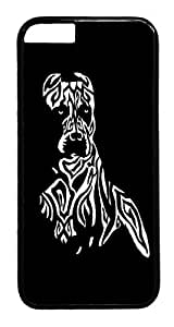 iphone 6 4.7inch Case Pitbull Tribal Tattoo HAC1014401 PC Hard Plastic Case for iphone 6 4.7inch Black