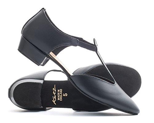 chaussure paillettes UK enseignement Dancewear salsa noir grecque les couleurs 6 taille PU Mesdames jive toutes danse sandale cuir 5 par filles cerco dames ballroom Katz qWBIqzOxAw