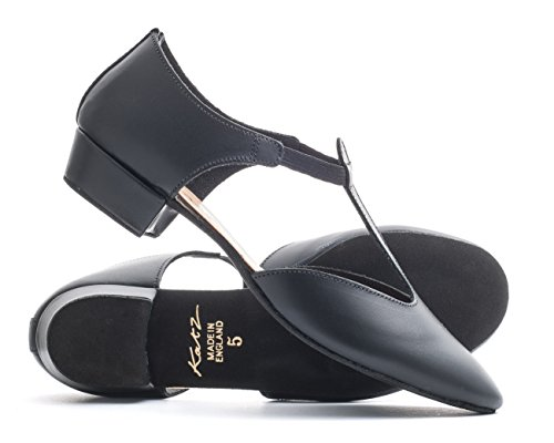 Shoe Sandal Salsa Teaching 5 Ladies Ladies Greek Glitter Size All Jive Cerco Colours UK Dancewear Leather Dance Girls PU Ballroom By Katz Black 0qv08O