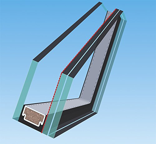 Laminated Glass FAKRO FX 806812 Fixed Skylight 30-1//2 x 37-1//2 Inches FX-504L