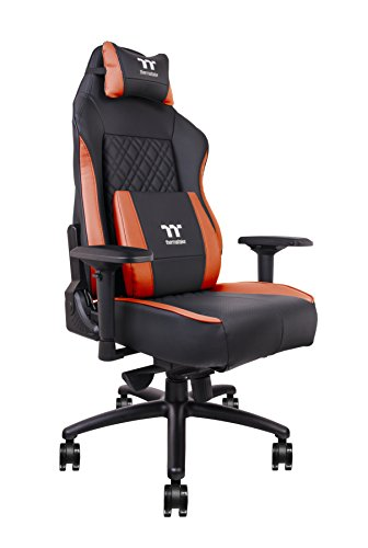 Thermaltake Tt Esports X Comfort Air Gaming Office Chair with 4 On-The-Fly Adjustable Cooling Fans Black/Red - ()