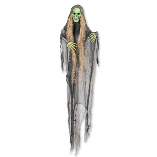 [Beistle Hairy Skeleton Creepy Creature, 5-Feet] (Funny Bones Skeleton Costume)