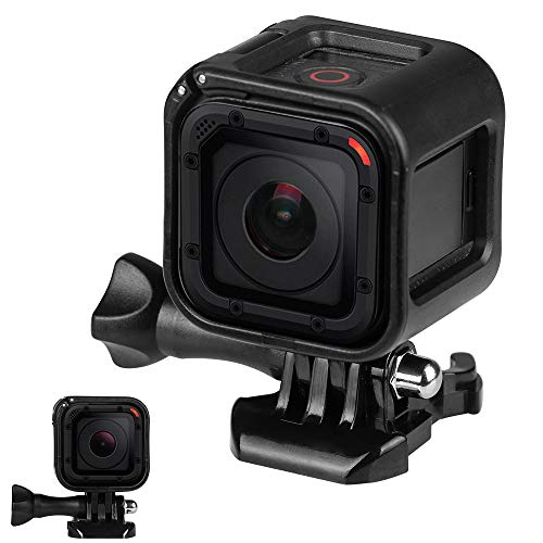 Protective Housing Frame Cover Skeleton Case with Buckle & Thumb Screw for GoPro Hero 5/4 Session ()